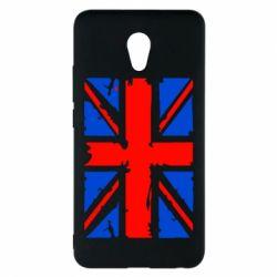 Чехол для Meizu M5 Note Британский флаг - FatLine