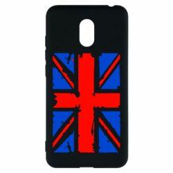 Чехол для Meizu M6 Британский флаг - FatLine