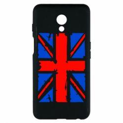 Купить Страны, Чехол для Meizu M6s Британский флаг, FatLine