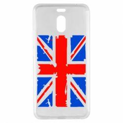 Чехол для Meizu M6 Note Британский флаг - FatLine