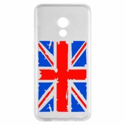 Чехол для Meizu Pro 6 Британский флаг - FatLine