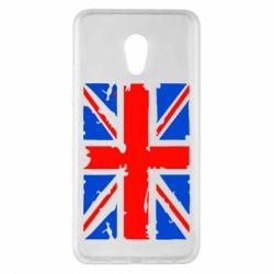 Чехол для Meizu Pro 6 Plus Британский флаг - FatLine