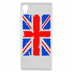 Чехол для Sony Xperia X Британский флаг - FatLine