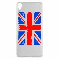 Чехол для Sony Xperia XA Британский флаг - FatLine