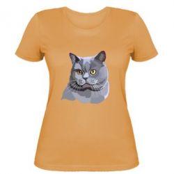 Женская футболка Briton