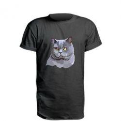 Удлиненная футболка Briton
