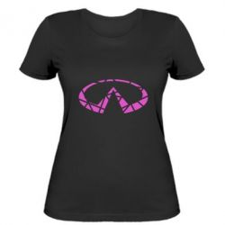 Жіноча футболка Broken logo
