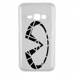 Чохол для Samsung J1 2016 Broken logo