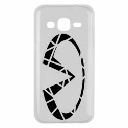 Чохол для Samsung J2 2015 Broken logo