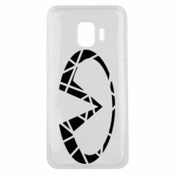 Чохол для Samsung J2 Core Broken logo