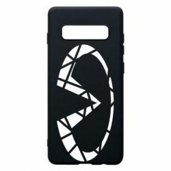 Чохол для Samsung S10+ Broken logo