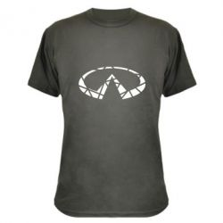 Камуфляжна футболка Broken logo