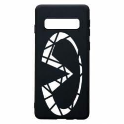 Чохол для Samsung S10 Broken logo