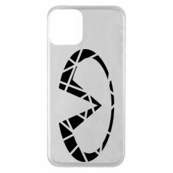 Чохол для iPhone 11 Broken logo