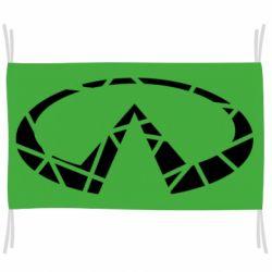 Прапор Broken logo