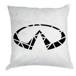 Подушка Broken logo