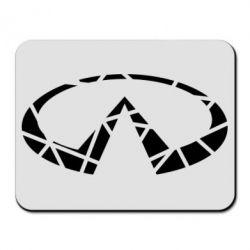 Килимок для миші Broken logo