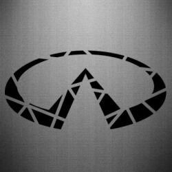 Наклейка Broken logo