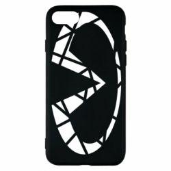 Чохол для iPhone 8 Broken logo