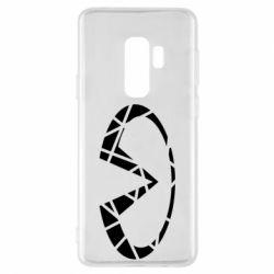 Чохол для Samsung S9+ Broken logo