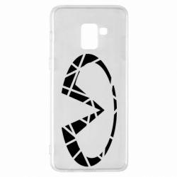 Чохол для Samsung A8+ 2018 Broken logo
