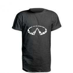 Подовжена футболка Broken logo
