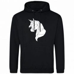 Чоловіча толстовка Broken unicorn 1