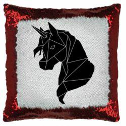 Подушка-хамелеон Broken unicorn 1