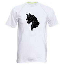 Чоловіча спортивна футболка Broken unicorn 1