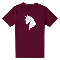 Чоловіча стрейчева футболка Broken unicorn 1