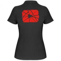 Жіноча футболка поло Broken