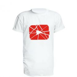 Подовжена футболка Broken