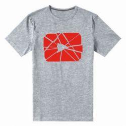 Чоловіча стрейчева футболка Broken