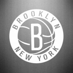 Наклейка Brooklyn New York - FatLine