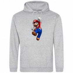 Мужская толстовка Brother Mario - FatLine