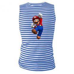 Майка-тельняшка Brother Mario