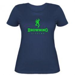 Женская футболка Browning - FatLine