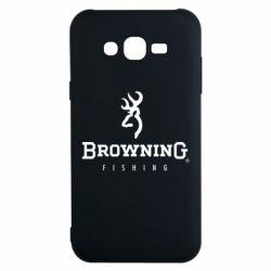 Чехол для Samsung J7 2015 Browning - FatLine