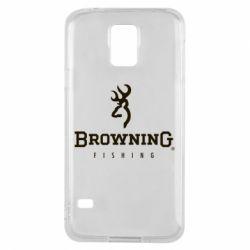 Чехол для Samsung S5 Browning - FatLine