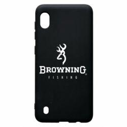 Чехол для Samsung A10 Browning - FatLine