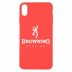 Чехол для iPhone X Browning - FatLine