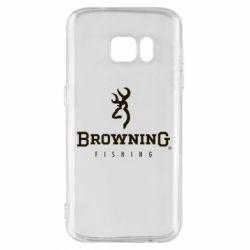 Чехол для Samsung S7 Browning - FatLine