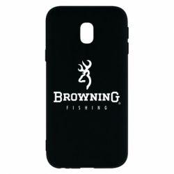 Чехол для Samsung J3 2017 Browning - FatLine