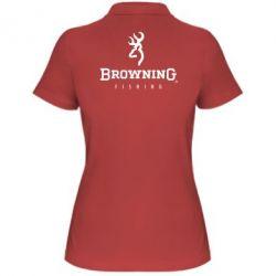 Женская футболка поло Browning - FatLine