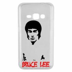 Чехол для Samsung J1 2016 Bruce Lee