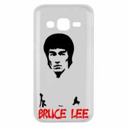 Чехол для Samsung J2 2015 Bruce Lee