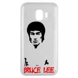 Чехол для Samsung J2 2018 Bruce Lee