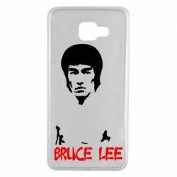 Чехол для Samsung A7 2016 Bruce Lee