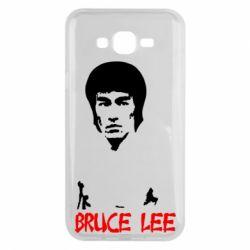 Чехол для Samsung J7 2015 Bruce Lee