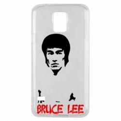 Чехол для Samsung S5 Bruce Lee